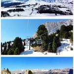 Snowy mountains — Stock Photo #52814817