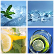 Cold water collage — Stock Photo #52814997
