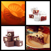 Sweets collection — Stock Photo