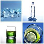 Collage de agua fría — Foto de Stock