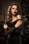 Elegant lady — Stock Photo