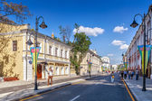 Pyatnitskaya street after renovation, Moscow, Russia — Stock Photo