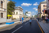 Pyatnitskaya street after renovation, Moscow, Russia — Stock Photo