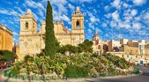 St. Lawrence church in Birgu, Malta — Stock Photo