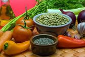 Ingredients-Lentil-Stew-3 — Stock Photo