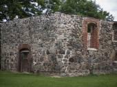 Ganzer-Kirche-Fassade — Stock Photo
