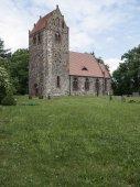 Gottberg-Feldsteinkirche — Stock Photo