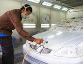 Car repainting — Stock Photo