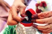 обручальное кольцо — Стоковое фото