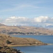 Постер, плакат: Mountain lake Titicaca