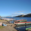 ������, ������: Ferry service on lake Titicaca