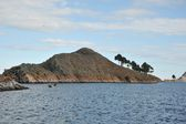 Mountain lake Titicaca. — Stock Photo