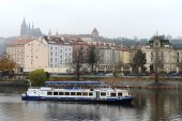 Prague. Vltava River — Stock Photo