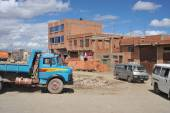 The outskirts of the city of La Paz — Foto Stock