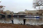 Prague. Vltava River. — Stock Photo
