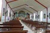 Church in the town of La Macarena. — Stock Photo
