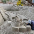 Sand sculpture in Orihuela Costa — Stock Photo #68876021