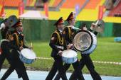 Moscow cadets. — Stock Photo