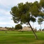 Golf courses in Orihuela Costa — Stock Photo #74584023