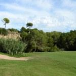 Golf courses in Orihuela Costa — Stock Photo #74595591