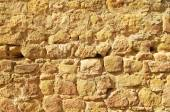 Old stone medieval wall texture or wallpaper — Stock Photo