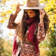 Autumn fashion look — Stockfoto #57656463