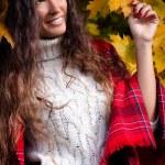 Autumn fashion woman — Stock Photo #58314585
