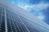 Solární panely technologie — Stockfoto