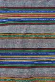 Woven wool rug — Stock Photo