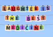 Laughter is the best medicine — Stock Photo