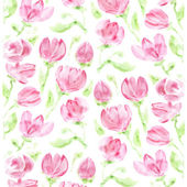 Elegant pink floral background — Stock Photo