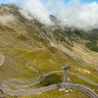 Panorama. Transfagarasan road in Romania DN7C. Reaches 2034 m ab — Stock Photo #53583201