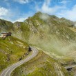 Panorama. Transfagarasan road in Romania DN7C. Reaches 2034 m ab — Stock Photo #53583207
