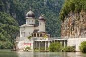 Mraconia Monastery, Danube, Romania — Stock Photo
