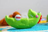 Toy crocodile — Stock Photo
