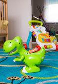 Toy dinosaur — Stock Photo