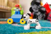Lego dog — Stock Photo