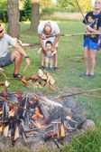 Barbecue event — Stock Photo