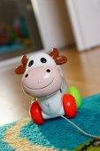Toy cow — Stock Photo