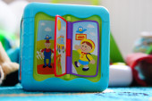 Toy cube — Stock Photo