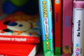 Baby books — Stock Photo