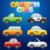 Cartoon Automobiles — Vector de stock
