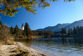 Bohinj Lake — Stockfoto