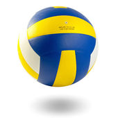 Volleyball ball on a white background — Stock Photo