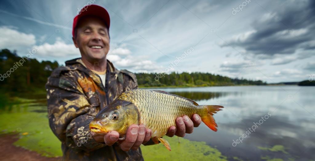 улыбка рыбака