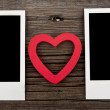 Pictures and heart — Stock Photo #56321461