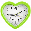 Heart shaped clock — Stock Photo #59552129