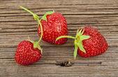 Ripe strawberry — Stock Photo