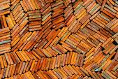 Clay tiles — Stock Photo