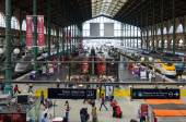Gare du Nord in Paris — Stock Photo